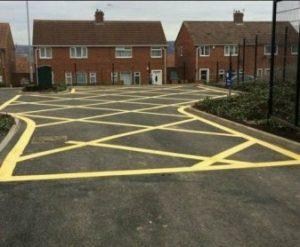 Bedworth Line Marking Contractor