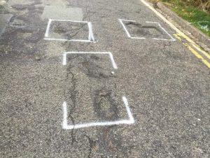 Builth Wells Pothole Repairs