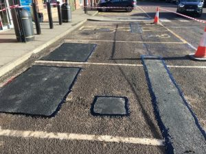 Pothole Repairs in Builth Wells area