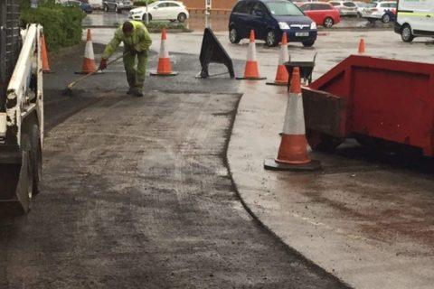 Bowburn Road <b>Surfacing</b> Contractor - UK Coverage